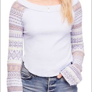 Free People Fairground Thermal Top